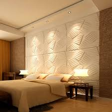 3D Wall Flats Decorative Wall Panels Material White 36 Pcs 387 Sq Ft