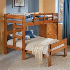 L Shaped Bunk Beds House For Children  MYGREENATL Bunk Beds - Kids l shaped bunk beds