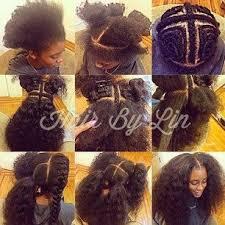 sew in hair gallery vixen sew in weave tutorial natural hair foto video