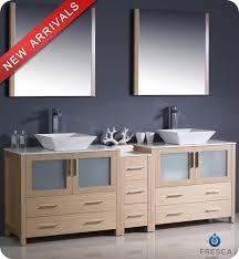 two separate sinks and vanities bathroom sink bathroom