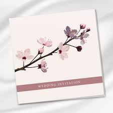 cherry blossom wedding invitations cherry blossom wedding invitation ireland weddingprint ie
