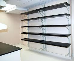 Garage Shelves Diy by Wall Mounted Storage Shelveswall Garage Shelving Diy Shelf Plans