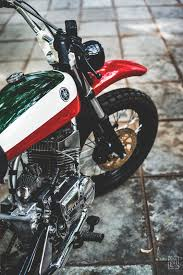 yamaha rx 100 a custom scrambler scrambler vintage bikes and