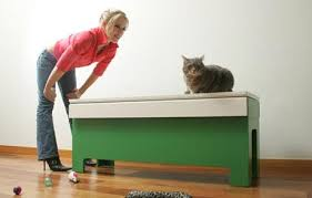 Kitty Litter Bench The Kattbank Apartment Therapy