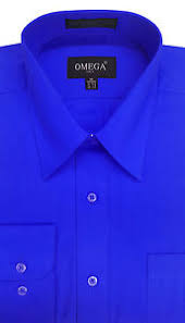 royal blue new mens royal blue sleeve dress shirts all sizes length ebay
