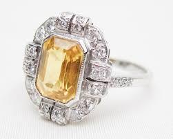 diamonds sapphire rings images Yellow sapphire diamond ring retro yellow sapphire ring jpg