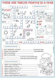 months and seasons worksheets