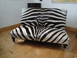 Animal Print Furniture by Zebra Skin Sofa I Would Love One Or Two Animal Prints