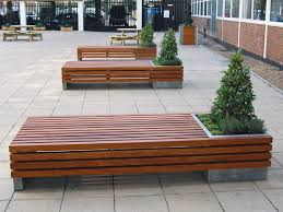 Garden Bench With Planters Planter Benches You Will Love To Have In Your Yard