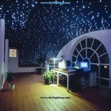 Fiber Optic Lighting Ceiling Fiber Optic Starfield Installation