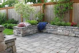 Block Patio Designs Patio Design Ideas With Pavers