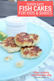 kids cakes incredibly easy fish cakes for kids and babies your kid s table