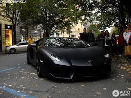 matte black lamborghini lamborghini aventador lp700 4 13 october 2012 autogespot