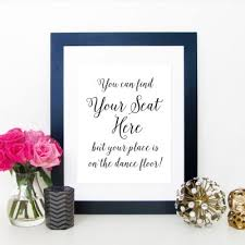 Wedding Table Signs Wedding Table Signs Archives Modern Pink Paper