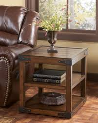 table amusing rustic chair side end table with wire mesh door by