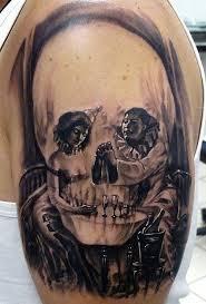 skull wonderful designs half sleeve 3d free live 3d hd pictures
