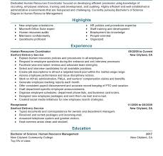 Sample Resume For Hr And Admin Executive Download Human Resource Administration Sample Resume