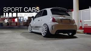 stanced maserati stanced abarth x maserati wheels sportcarsinworld 4k youtube