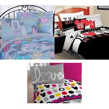 Mickey And Minnie Bed Set by Mickey Mouse Twin Sheets