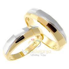 cincin lapis emas cincin kawin alisia perak lapis emas kuning dan rhodium cincin