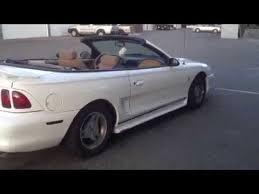 1998 convertible mustang 1998 mustang convertible v6 piped headers sold