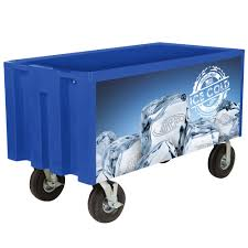 Outdoor Cooler Cart On Wheels by Irp Blue Extra Large Super Arctic 080 Mobile 456 Qt Cooler With