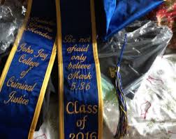 custom graduation sashes graduation pointed stoles custom orders starting with three