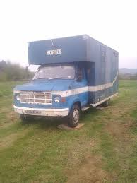 Classic Ford Diesel Truck - 1982 ford a series classic horsebox recovery truck tiny home