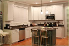 kitchen decorating ideas for countertops furniture white thomasville cabinets with black countertop and