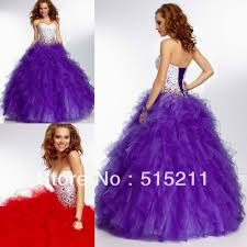 purple puffy prom dresses 2016 plus size masquerade dresses