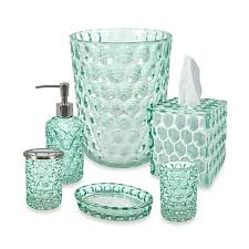picturesque crystal ball glass bathroom accessories in aruba bed