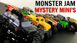 wheel monster jam trucks list new wheels monster jam mini mystery trucks blind bags series