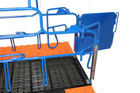 a crate farmweld pig feeders farrowing crates and fencing
