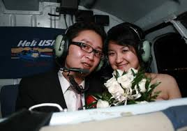 las vegas mariage weddings helicopter wedding las vegas