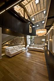 unconventional loft apartment born from an old roman barn rome