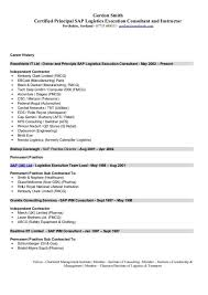 Sap Sd Consultant Resume Sample Sample Sap Sd Consultant Cover Letter Crm Consultant Cover Letter