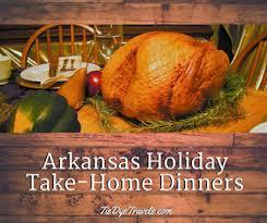 restaurants that make dinners for you in arkansas tie