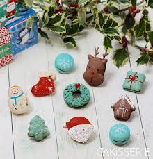 christmas macarons by cakisserie macarons pinterest macarons