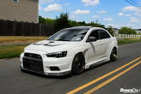 widebody evo bcuz evo stance daily