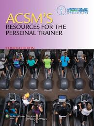 acsm u0027s resources for the personal trainer ebook by american