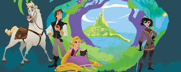 image tangled series art jpeg disney wiki fandom powered