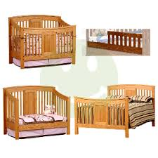 Cheap Convertible Baby Cribs Amish Meridian 4 In 1 Convertible Baby Crib Cribs Made In Usa