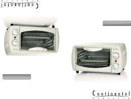 Ge Toaster Oven Manual Continental Electric Toaster Ce23551 User Guide Manualsonline Com