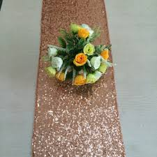 sequin table runner wholesale rose gold sequin table runner 12 x 108 sequin tablecloth wholesale