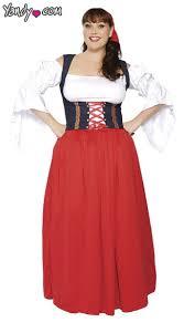 Halloween Costume Size Swiss Costume Size Swiss Wench Costume