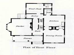 Victorian House Floor Plans by Small Victorian House Floor Plans Small Victorian Home Plans