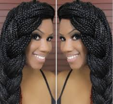 what kind hair use boxbraids box braids hairstyles tutorials hair to use pictures care