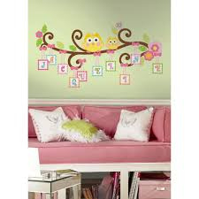 Nursery Tree Wall Decal by 18 In X 40 In Disney Fairies Tinkerbell 10 Piece Peel And