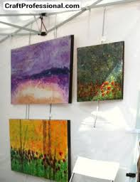 how to hang a painting photos of art show displays