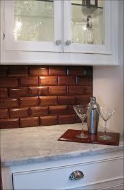 kitchen stick on backsplash tiles faux stone sheets backsplash